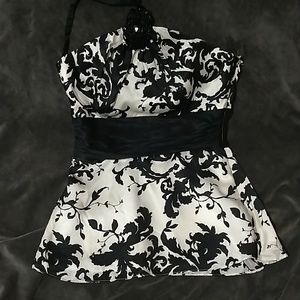 White House Black market halter top
